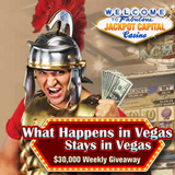 "Mobile Casino Players Earn Double Points in $162,500 ""What Happens in Vegas"" Casino Bonus Giveaway"