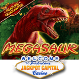 $100 Casino Bonus for New Megasaur Slot from Realtime Gaming is Now Available at Jackpot Capital Casino