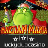 Casino bonus for Martian Mania online slot at Lucky Club Casino