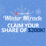 PokerVIP Winter Miracle Rake Race Giving Away $210,000