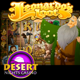 Desert Nights New Leonardos Loot Slot Game is a Tribute to Da Vinci Genius