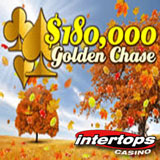 Intertops Casino Players Raking Up 180,000 in Golden Chase Casino Bonuses