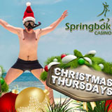 Bonuses Free Spins and Double Comp Points during Springbok Casino  Christmas Thursdays