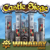 WinADay Casino New Castle Siege is an Epic Quest for Treasure with the Unique Casinos First Sticky Wild