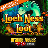 Loch Ness Monster Spotted at Grande Vegas Mobile Casino Mobile Casino Bonus Now Available