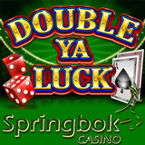 Springbok Casino Offering up to 1500 Rand Bonus to Try New Double Ya Luck Slot from RTG