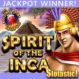 Spirit of the Inca Slot Pays Out Jackpot at Slotastic