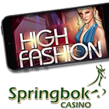 South Africas Springbok Casino Adds New High Fashion Slot to Mobile Casino