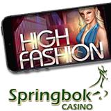 South Africas Springbok Casino Adds New High Fashion Slot to Mobile Casino