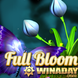 WinADay Casino giving Freebie to Celebrate New Full Bloom Slot Game