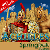 Bonus and Free Spins Available for Achilles Slot in Springbok's Online and Mobile Casino