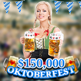 Every Week Players Share in Casino Bonuses during Intertops Casino Oktoberfest
