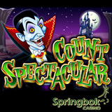 Comical Spook Count Spectacular is Halloween Game of the Month at South Africas Springbok Casino
