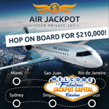 Jackpot Capital Casino Increases Maximum Weekly Bonus for Air Jackpot Casino Bonus Event